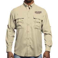 B-Co Dad L/S Fishing Shirt